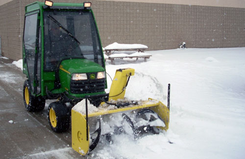 Blower Snow Removal Equipment : Equipment glacier snow management
